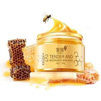 Маска для рук с пчелиным воском и козьим молоком