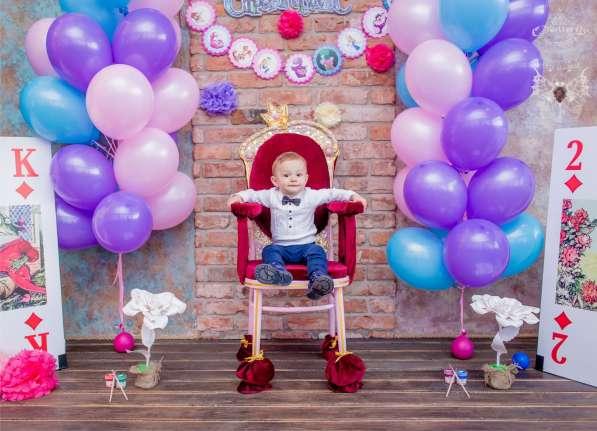 Оформление детских праздников. Воздушные шары. Полиграфия