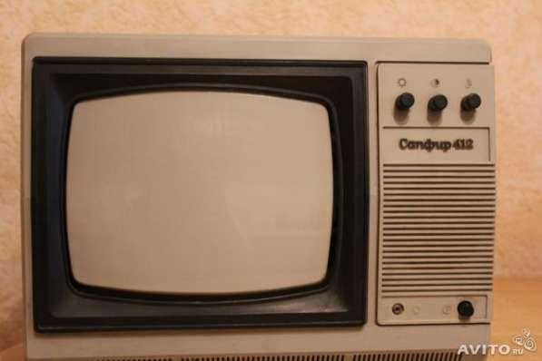 Продам телевизор чернобелый сапфир 90 годов ссср