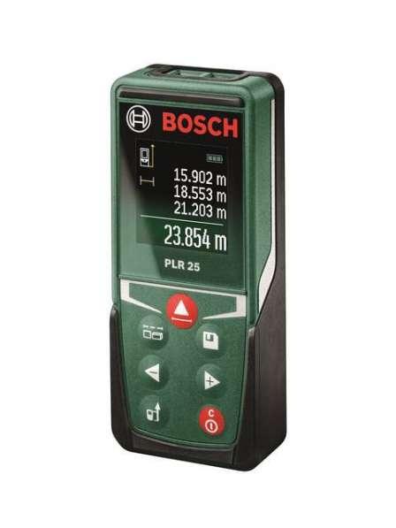 Дальномер (рулетка) Bosch PLR 25 0603672521 лазерный