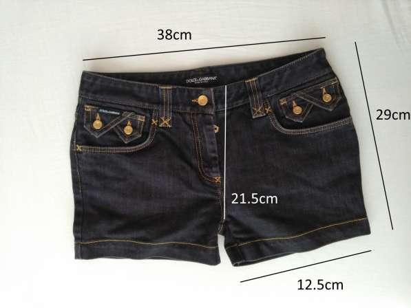 Dolce&Gabbana женские джинсовые шорты новые S 100% authentic в