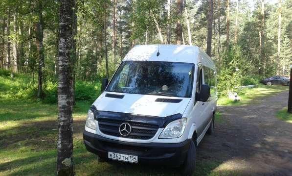 Аренда микроавтобуса Mercedes Sprinter (20 мест)