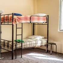 Кровати двухъярусные, односпальные металлокаркас, в Новороссийске