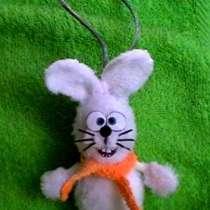 Елочная игрушка зайчик, в Оренбурге