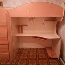 Продам кровать-чердак для девочки, в Курагине