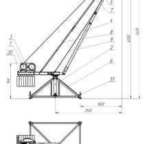 Строительные краны типа «Пионер» и Кран в окно «Умелец», в Орле