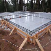 Строим фундамент под ключ. Фундамент в Сергиевом Посаде, в Москве