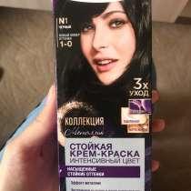 Краска для волос palette Schwarzkopf чёрный 1-0, в Санкт-Петербурге