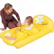 Надувная кровать со спальным мешком-одеялом Твити детская, в Москве