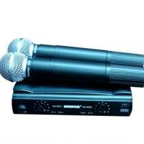 Микрофон SHURE SM58 V/A радиосистема, в г.Москва