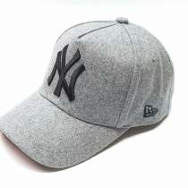 Бейсболка New York шерстяная серый, в г.Москва