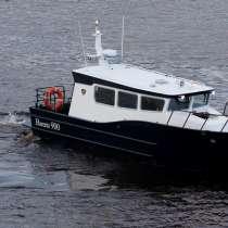 Новый морской катер Баренц 900, в Архангельске