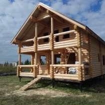 Строительство деревянных домов из северного леса, в Лосино-Петровском