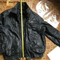 Куртка кожаная мужская 48-50, в Батайске
