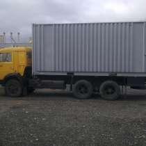 КАМАЗ кабина жолтого цвета кузов контейнер, в Москве