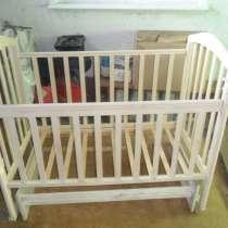 Кроватка детская + принадлежности в подарок, в Каменске-Уральском