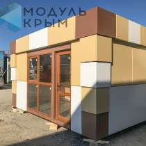 Торговое помещение 18 м2, отделан композитными панелями, в Севастополе