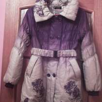 Модное новое пальто с красивым принтом, в Санкт-Петербурге