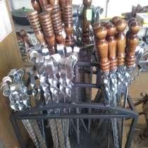 Шампур с деревянной ручкой, в Пензе