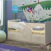 Кровать Детская Дельфин 5, в Москве