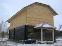 Строительство домов, бань из бревна и бруса, в Костроме