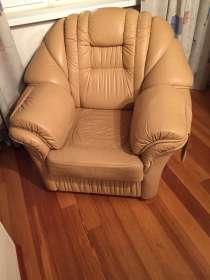 Кресло кожаное, в Москве