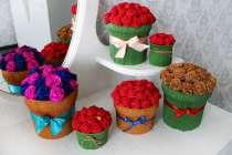 Розы в шляпной коробке, в Калининграде