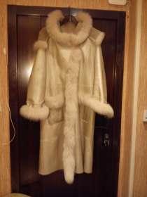 Отличная дубленка!!!теплая, удобная, светло бежегово цвета, в Москве