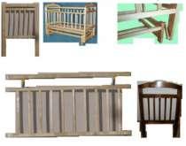 Кровать Ника №3 ;НОВАЯ; МАЯТНИК  ПОДВЕСЫ НА ВТУЛКАХ, в г.Самара