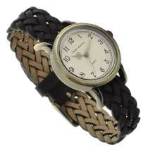 Винтажные женские наручные часы Tokyobay Braid Black T518-BK, в Екатеринбурге