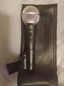 Микрофон shure sm48s, в Москве