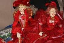 Две венецианские фарфоровые куклы, в Москве