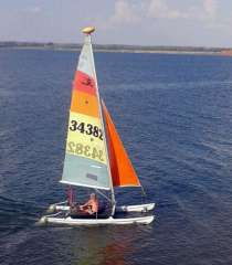 Катамаран Hobie Cat 14' Turbo, в Уфе