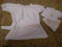 Блузка белая, с коротким рукавом, школа, дет. сад, в г.Днепропетровск