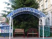 Беседка в сад оригинальная, металлическая, в Бердске