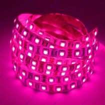 Открытая светодиодная лента SMD 5050 /60 розовая, в Краснодаре