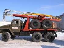 лесовоз УРАЛ 4320, в Тамбове
