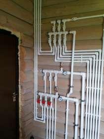 Монтаж инженерных коммуникаций (отопление, канализация), в Архангельске