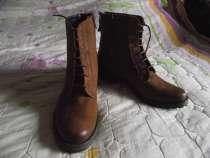 Коричневые ботиночки из натуральной кожи, новые, в Санкт-Петербурге