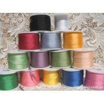 Шёлковые ленты для вышивки (100% шёлк) любого цвета и ширины, в Краснодаре