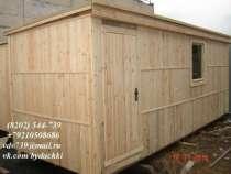 Вагончик (бытовка) деревянная цена 41000, в Череповце