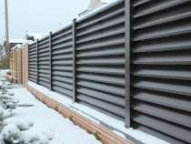 Забор-жалюзи металлический, в г.Могилёв