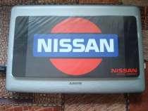 """Табличка под Японский номер """"NISSAN"""". Чёрная, в Омске"""