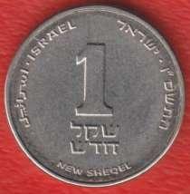 Израиль 1 новый шекель 2006 г. точка под гербом, в Орле