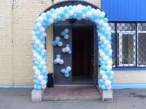 Гирлянды из воздушных шаров, в Смоленске