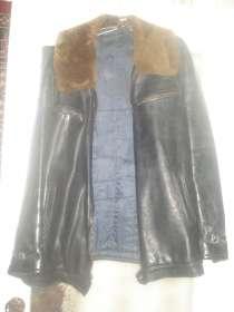 Мужская кожаная куртка, в г.Минск