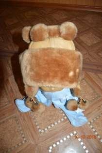Детская шапка зимняя натуральны мех, в Комсомольске-на-Амуре