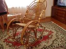 Роскошное плетёное кресло-качалка в отличном состоянии, в Анапе