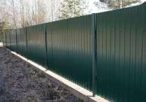 Забор из проф листа, в Анапе