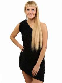 Чёрный шарф - трансформер (платье, юбка, болеро.), в Перми